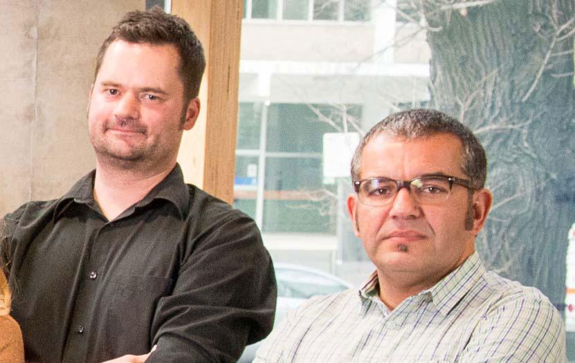 Associate Professor Thomas Gebhardt and Associate Professor Sammy Bedoui.