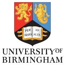 <center>University of Birmingham</center>