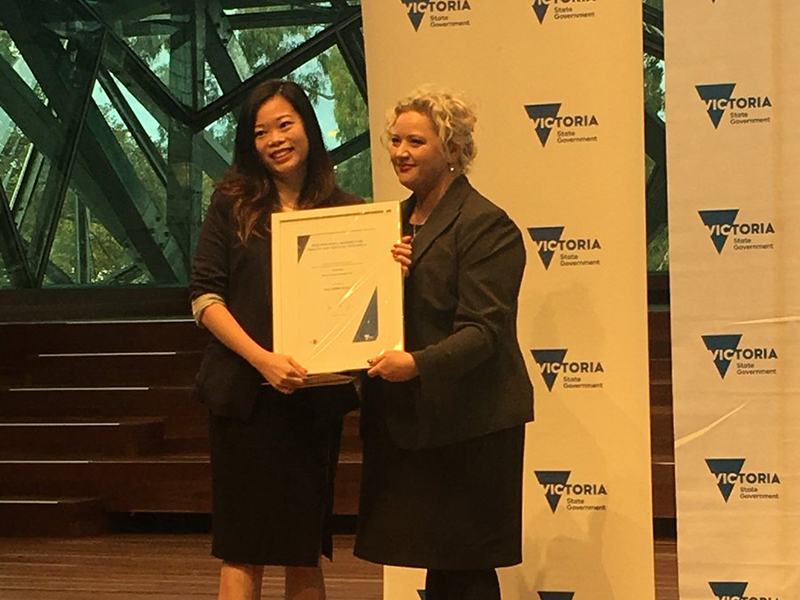 Dr Hui-Fern and The Hon. Jill Hennessy MP