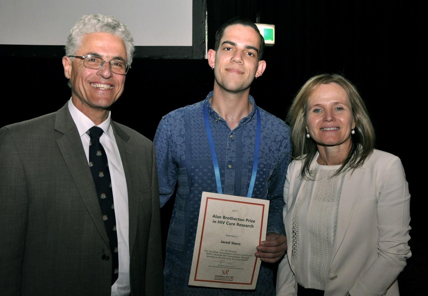 Jared Stern wins prestigious Alan Brotherton Prize in Cure
