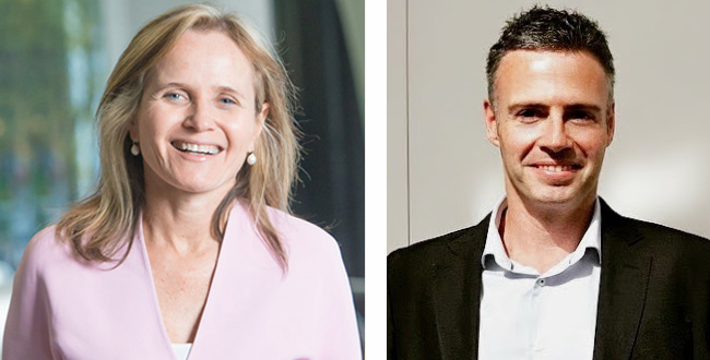 Professor Sharon Lewin and Dr Daniel Pellicci receive NHMRC Research Excellence Awards