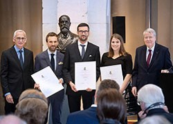 Dr Daniel Utzschneider awarded a Robert Koch Postdoctoral Award for Immunology in Berlin