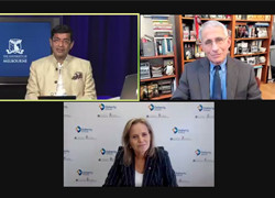 Professor Sharon Lewin: Conversations on COVID-19 with Dr Anthony Fauci