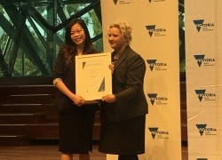 Dr Hui-Fern Koay joint winner in Premier's Awards - Basic Science Researcher category