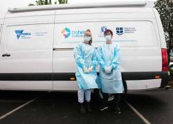 Lab Van enables rapid diagnostic testing in outbreak hotspots