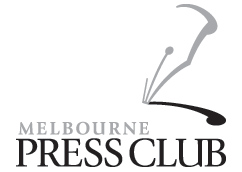 Laureate Professor Peter Doherty and Professor Sharon Lewin at the Melbourne Press Club