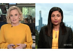 Dr Irani Thevarajan on ABC 24 talking about mystery Chinese pneumonia outbreak
