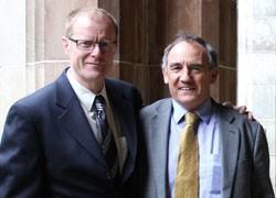 Professor James McCluskey shares prestigious Victoria Prize for Science and Innovation