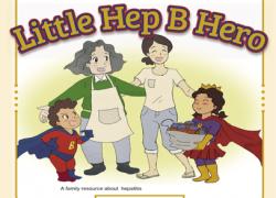 Community News: Hepatitis Victoria  'Little HepB Heroes' Project